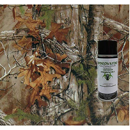 Hydrographics Film Water Transfer Printing Film Hydro Dipping Dip Film Hydrographic Film Autumn Camo Dip Kit 6oz Activator & Linear Meter Camouflage Hydro Film