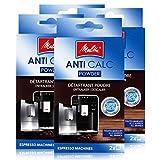 4x Melitta Anticalc Espresso Machines