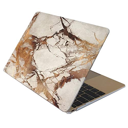 CAIFENG Phone Cover Case Marble Patterns Apple Laptop Water Decals PC Protective Case for MacBook Air 13.3 inch Protective Shell (Color : Color1)