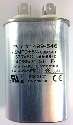Fan Capacitor for Coleman Air Conditioners 1499-5461