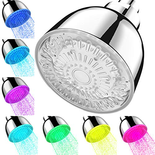 LED Shower Head Color Changing