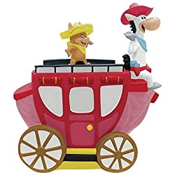Image: Westland Giftware Quick Draw McGraw on Carriage Cookie Jar