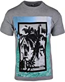 ShirtBANC Cali Life Beach Shirt California Republic Tee (Cali Life Beach Gray Tee, XL)