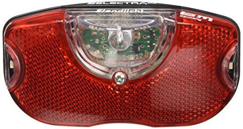 Busch & Müller Unisex– Erwachsene Rücklicht Selectra Plus 50 mm Fahrradlicht, rot, 50mm