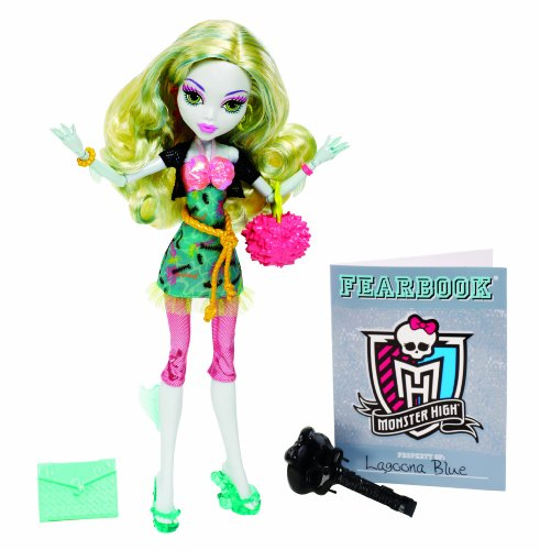 Monster High - Bbj72 - Poupée Mannequin - Picture Day - Lagoona