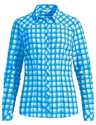 Vaude Damen Bluse Women's Tacun LS Shirt, Icicle, 38, 40882