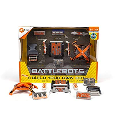 HEXBUG BattleBots Build Your Own Bot Tank Drive, Toys for Kids, Fun Battle Bot Hex Bugs from HEXBUG