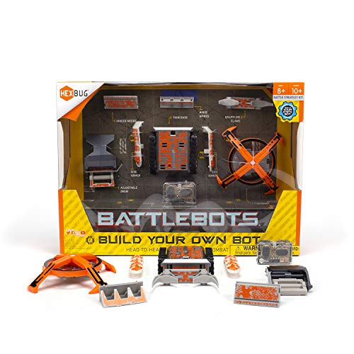 HEXBUG BattleBots Build Your Own Bot Tank Drive, Toys for Kids, Fun Battle Bot Hex Bugs