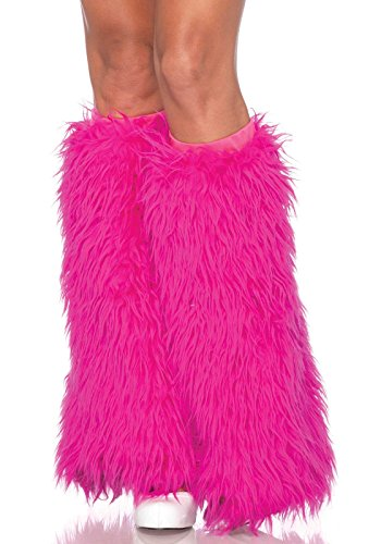 Leg Avenue 3934 - Furry Leg Warmers, Einheitsgröße (Pink)
