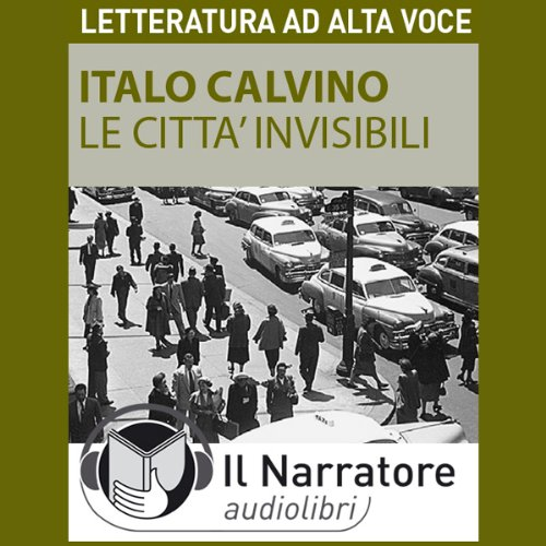 Le città invisibili audiobook cover art