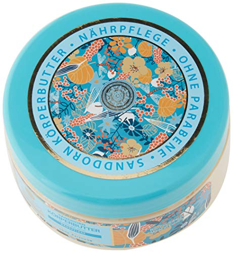 Natura Siberica Sanddorn Körperbutter, Nährstoff-Pflege, 1er Pack (1 x 300 ml)