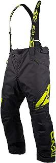FXR Racing F19 Clutch FX Insulated Mens Snowmobile Pants - Black/Hi-Vis - X-Large