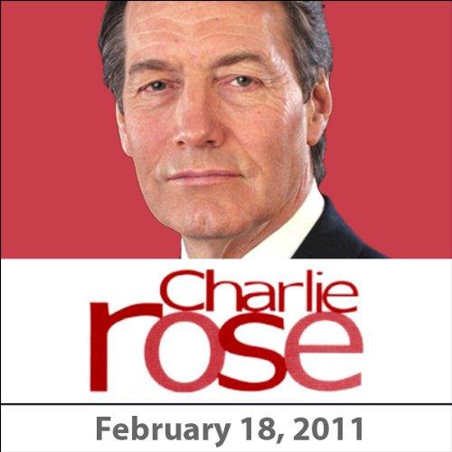 Charlie Rose: Chris Anderson, Chris Matthews, and James Kaplan, February 18, 2011 cover art