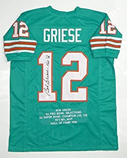 bob griese signed jersey