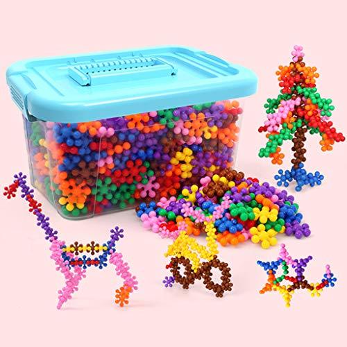kids toys Jouet de Bloc de Prune, Puzzle de Jouet pour Enfants 3-6-7-8-10 Ans garçon assemblé, Jouet en Plastique, Disque de Verrouillage de Bloc de Prune, avec boîte de Rangement