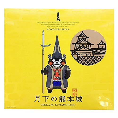 月下の熊本城 くまモンバージョン 8個入×3箱 清正製菓 ミルクで仕上げた栗あんをしっとり焼き上げた生地で包み込んだ熊本銘菓