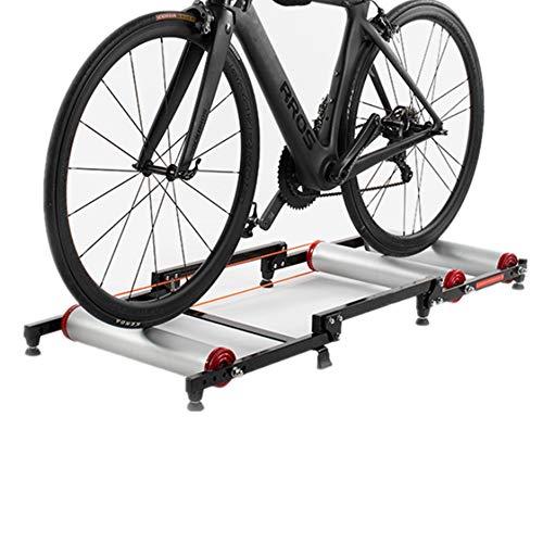 QinWenYan Rodillo Entrenamiento Bicicleta Rodillo Cubierta Ciclo Resistencia Trainer Formación Cubierta Plegable...