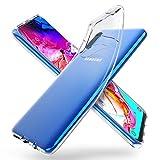ORNARTO Funda para Samsung A70, Transparente Delgada Silicona Flexible Ajuste Proteger Caso...