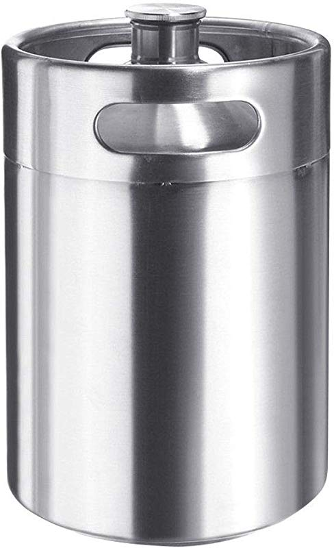 Seleq Stainless Steel Keg Style Growler 5L 170Oz