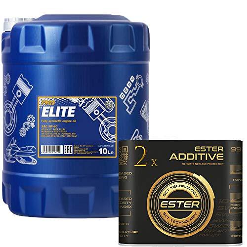 10 Liter, MANNOL 7902 Elite 5W-40 229.5 inkl 9929 Motoröladditiv
