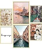 ARTORIA | Premium Poster Set - Beige Rose | Ohne Rahmen |