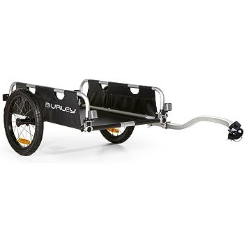 Burley 941202 Fahrrad Lasten Anhanger Alu Faltbar Flatbed 45kg
