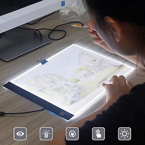 HEXIN Tablero luz A4 LED Tracer Tablero Dibujo Ultra