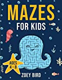 """Mazes for Kids: Maze Activity Book for Ages 4 €"""" 8"""