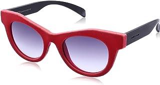 نظارة شمس لونين بعدسات شكل عين القطة ارجواني متدرج للنساء من ايطاليا انديبندنت - احمر
