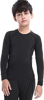 Boys&Girls Compression Shirts Long Sleeve Tops T-Shirts