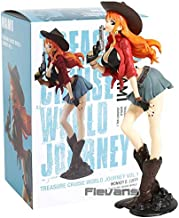 Roronoa Zoro / Nami / Monkey D Luffy Treasure Cruise World Journey PVC Collectible Figure Onepiece Model Toy Thing You Must Have Friendship Gifts Girl S Favourite 4T Superhero UNbox Love
