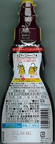 森永製菓 チョコレートシロップ 使いやすい細口&太口キャップ ボトル200g
