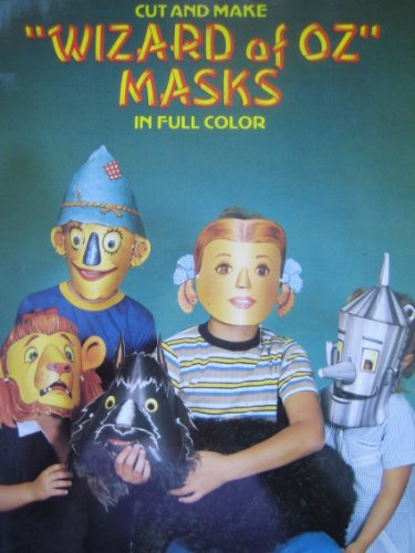 Cut and Make Wizard of Oz Masks in Full Color