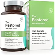 Probiotics with BIOME-Boost, 17x More Probiotics Reach The Gut Alive Than The Leading Brand