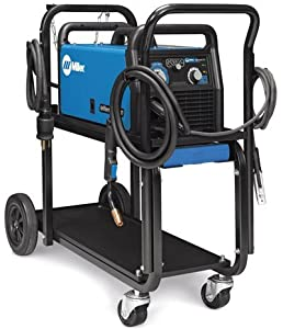Millermatic 211 MIG Welder With Advanced Auto-Set And Cart 951603 from Miller