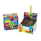 Block-Notes per Bambini e Adulti di Purple Ladybug - Cubo di 150 Fogli in Carta Magica Ner...