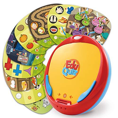 BEST LEARNING EduQuiz Basic Set I - Jouet éducatif interactif pour Les Enfants [Langue du Jeu : Anglais]
