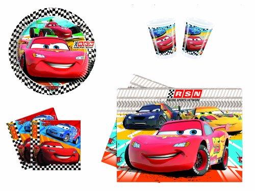 DISNEY - 5381 - Kit De Fête - Kit Cars Rsn - Format l