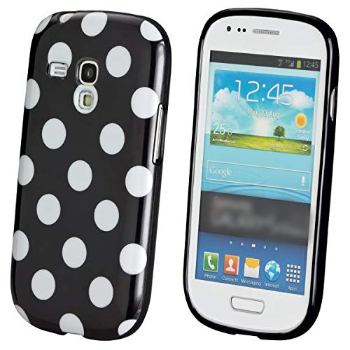 ECENCE Handyhülle Schutzhülle Hülle Cover kompatibel für Samsung Galaxy S3 mini i8190 i8200 22020105