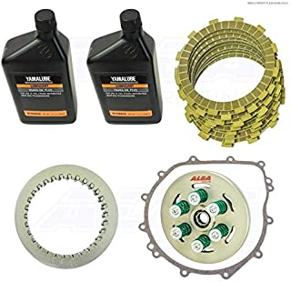 Yamaha YXZ 1000R Manuel Shift Models Clutch Kit with 6 spring HD conversion Gasket Oil Alba Racing Does Not fit SS models