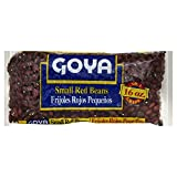 Goya Small Red Beans, 1 Pound - Pack of 3