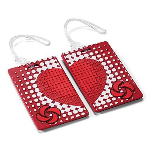 Samsonite Designer Luggage Id Tags-True Love (Pair)