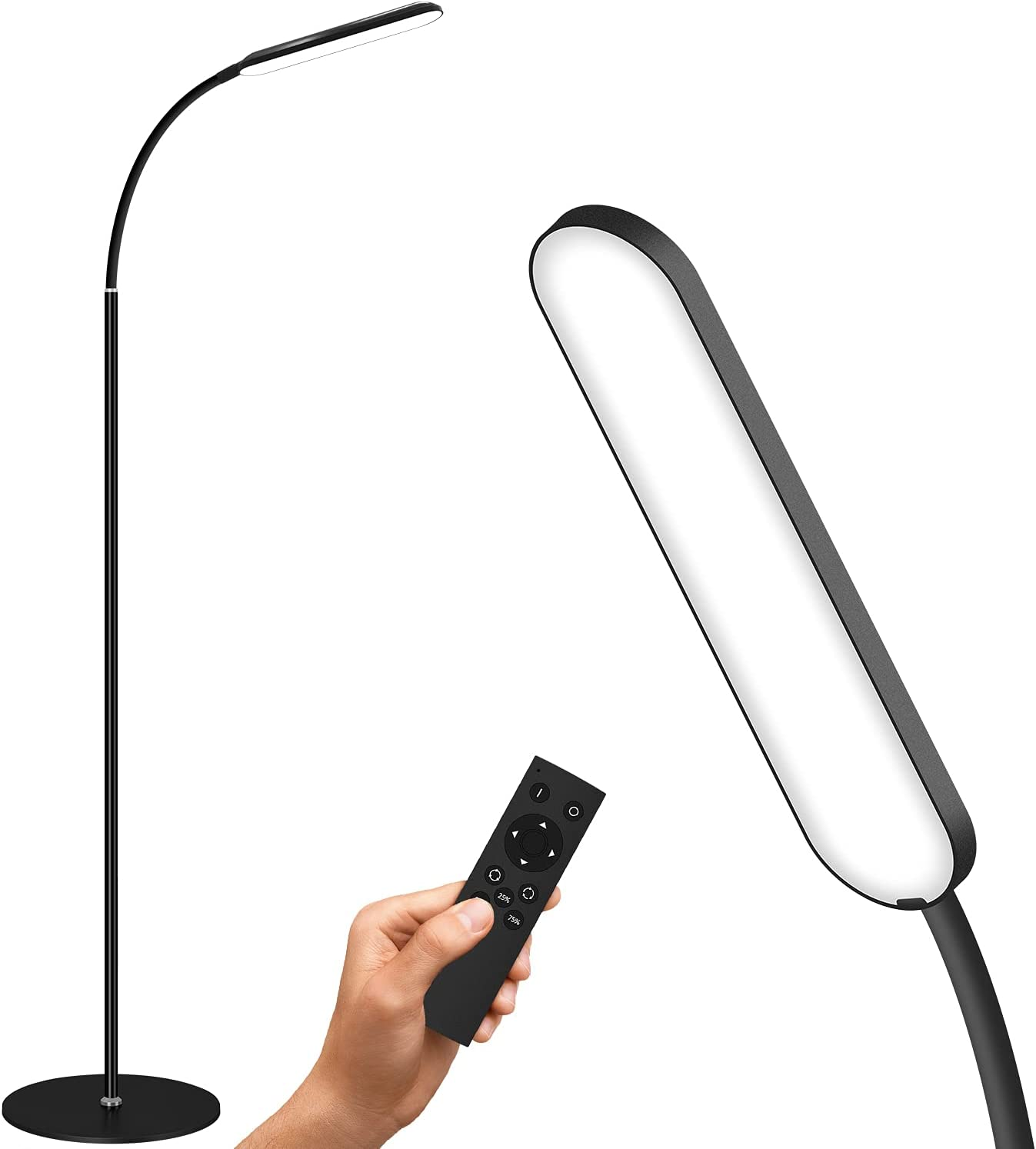 shop GSBLUNIE Led Floor Lamp Dimmable Standing Tem 3 Beauty products Color lamp with