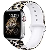 OriBear Compatible with Apple Watch Band 40mm 38mm Elegant Floral Bands for...