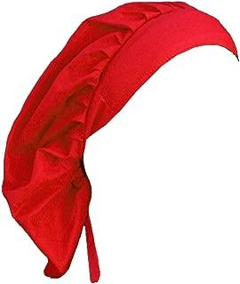 Bouffant Medical Scrub Cap - Medical-Red