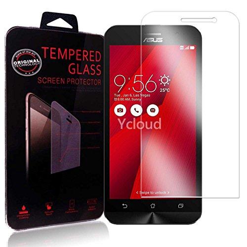 Ycloud Panzerglas Folie Schutzfolie Bildschirmschutzfolie für Asus ZenFone Go 3 ZB500KL (5.0 Zoll) screen protector mit Festigkeitgrad 9H, 0,26mm Ultra-Dünn, Abger&ete Kanten