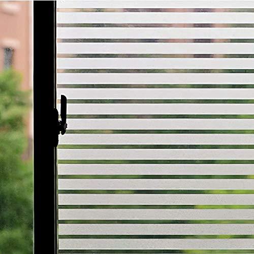 Película de Ventana de privacidad Opaca esmerilada película de Vidrio autoadhesiva Anti-Ultravioleta Utilizada para Pegatinas de Vidrio de Oficina en casa I 50x100cm