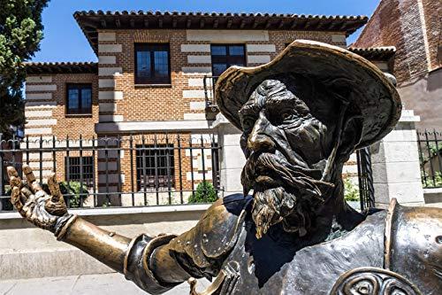 Don Gide Libro Español Lectura Estatua Madrid 1,000 Piezas De Rompecabezas Juguetes Educativos para Niños Desafían La Capacidad Intelectual