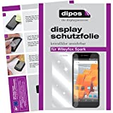 dipos I 6X Schutzfolie klar kompatibel mit Wileyfox Spark Folie Bildschirmschutzfolie
