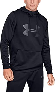 Under Armour Men's Armour Fleece Pullover Hoodie Big Logo Graphic